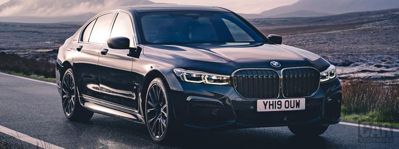 Обои автомобили BMW 750i xDrive M Sport UK-spec - 2019 - Car wallpapers
