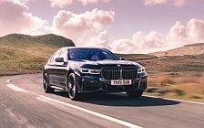 Обои автомобили BMW 750i xDrive M Sport UK-spec - 2019