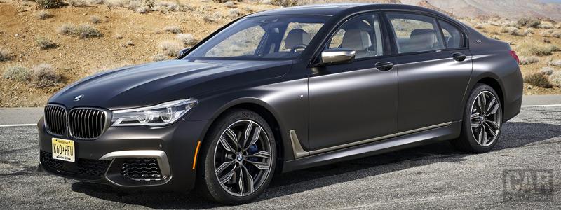Обои автомобили BMW M760i xDrive US-spec - 2017 - Car wallpapers