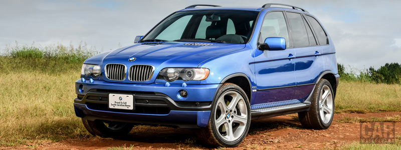 Обои автомобили BMW X5 4.6is US-spec - 2002 - Car wallpapers