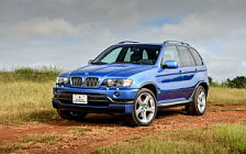 Обои автомобили BMW X5 4.6is US-spec - 2002