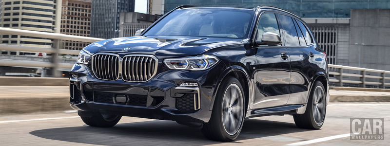 Обои автомобили BMW X5 M50d US-spec - 2018 - Car wallpapers