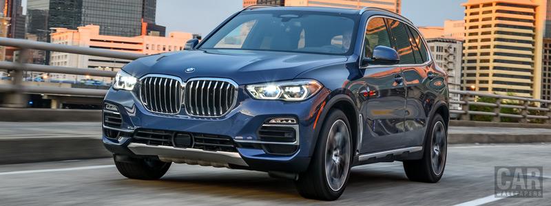 Обои автомобили BMW X5 xDrive40i xLine US-spec - 2018 - Car wallpapers