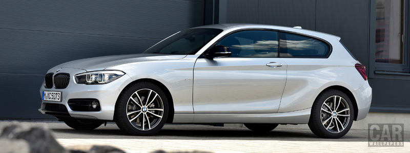 Обои автомобили BMW 120d Sport Line 3door - 2017 - Car wallpapers