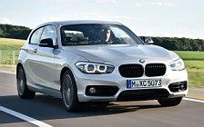 Обои автомобили BMW 120d Sport Line 3door - 2017