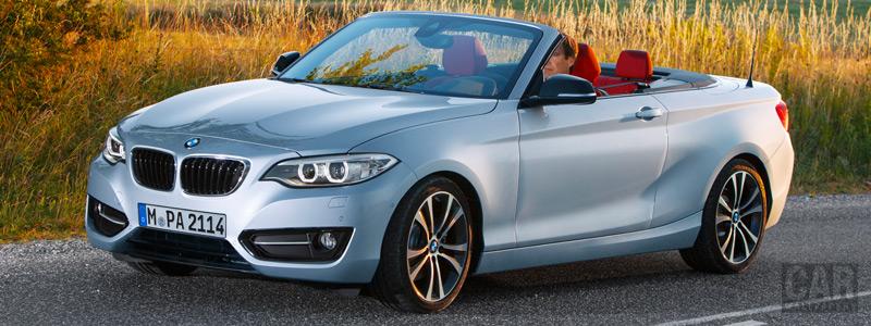 Обои автомобили BMW 228i Convertible - 2014 - Car wallpapers