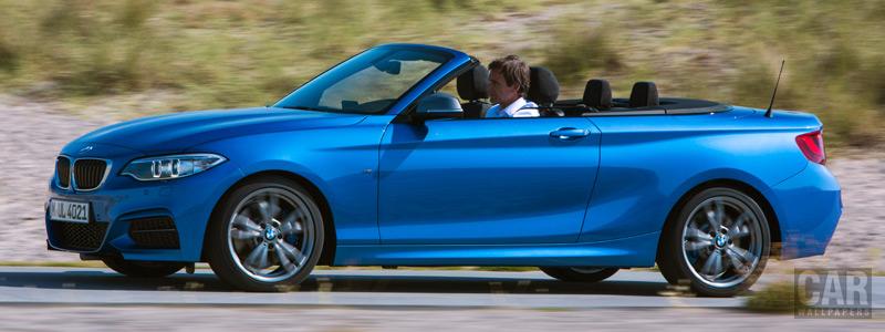 Обои автомобили BMW M235i Convertible - 2014 - Car wallpapers