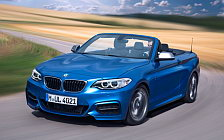 Обои автомобили BMW M235i Convertible - 2014