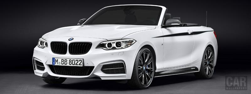 Обои автомобили BMW 2-series Convertible M Performance Parts - 2015 - Car wallpapers