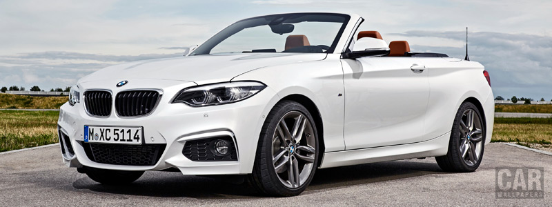 Обои автомобили BMW 220d Convertible M Sport - 2017 - Car wallpapers