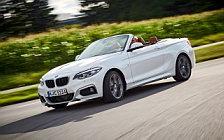 Обои автомобили BMW 220d Convertible M Sport - 2017