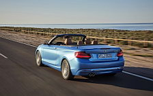 Обои автомобили BMW 230i Convertible Luxury Line - 2017