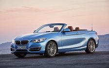 Обои автомобили BMW 230i Convertible Luxury Line - 2017