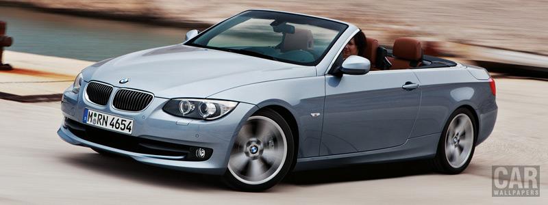 Обои автомобили BMW 3-Series Convertible - 2010 - Car wallpapers