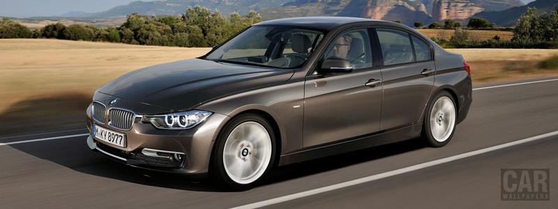 Обои автомобили BMW 320d Sedan Modern Line - 2012 - Car wallpapers