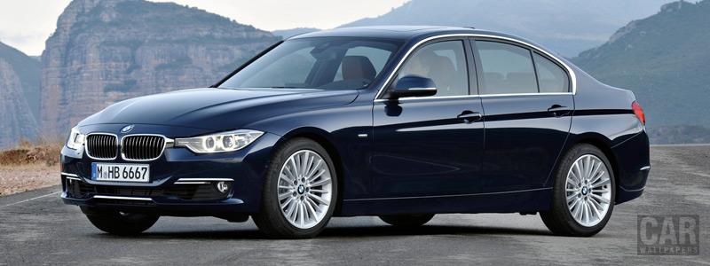 Обои автомобили BMW 328i Sedan Luxury Line - 2012 - Car wallpapers