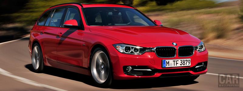 Обои автомобили BMW 328i Touring Sport Line - 2012 - Car wallpapers