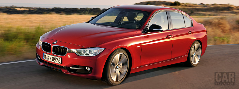 Обои автомобили BMW 335i Sedan Sport Line - 2012 - Car wallpapers
