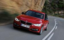 Обои автомобили BMW 335i Sedan Sport Line - 2012