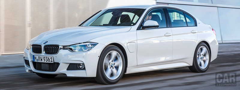 Обои автомобили BMW 330e M Sport - 2016 - Car wallpapers