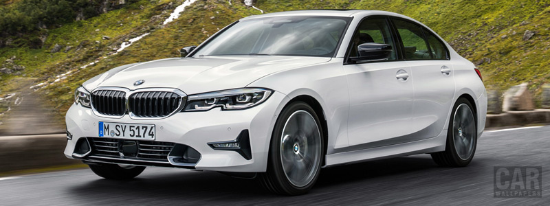 Обои автомобили BMW 320d Sport Line - 2019 - Car wallpapers