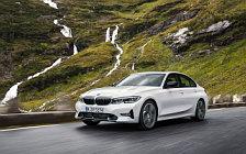 Обои автомобили BMW 320d Sport Line - 2019