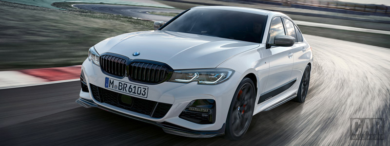 Обои автомобили BMW 3 Series M Performance Parts - 2019 - Car wallpapers
