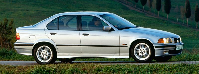 Обои автомобили BMW 3-Series E36 Sedan - Car wallpapers