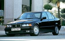 Обои автомобили BMW 3-Series E36 Sedan