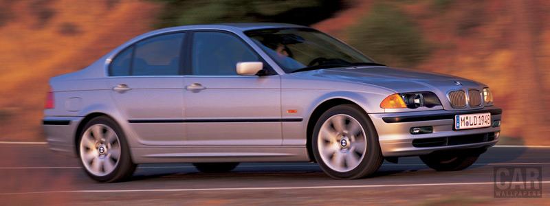 Обои автомобили BMW 3-Series E46 Sedan - Car wallpapers