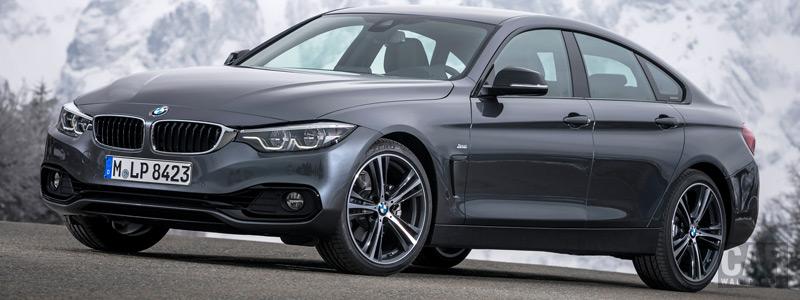 Обои автомобили BMW 4-series Gran Coupe Sport Line - 2017 - Car wallpapers