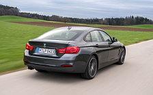 Обои автомобили BMW 4-series Gran Coupe Sport Line - 2017