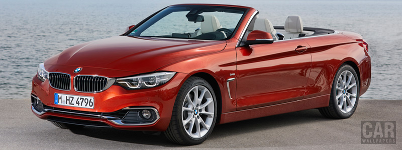 Обои автомобили BMW 430i Convertible Luxury Line - 2017 - Car wallpapers