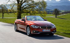 Обои автомобили BMW 430i Convertible Luxury Line - 2017