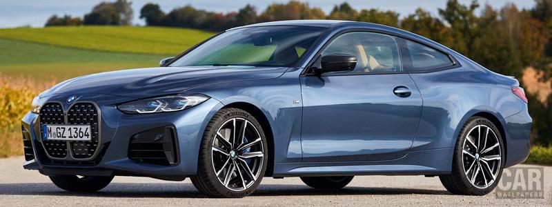 Обои автомобили BMW M440i xDrive Coupe - 2020 - Car wallpapers