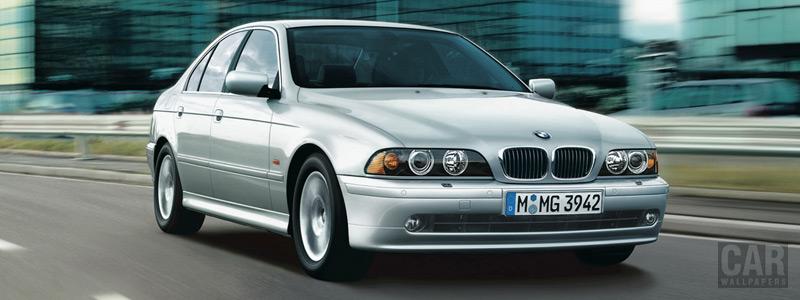 Обои автомобили BMW 5-series - 2002 - Car wallpapers