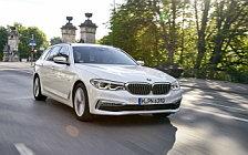 Обои автомобили BMW 520d Touring Luxury Line - 2017
