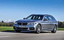 Обои автомобили BMW 530d Touring M Sport - 2017