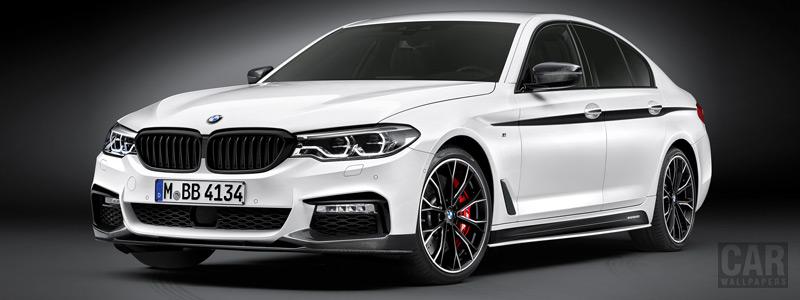 Обои автомобили BMW 5-series Sedan M Performance Accessories - 2017 - Car wallpapers