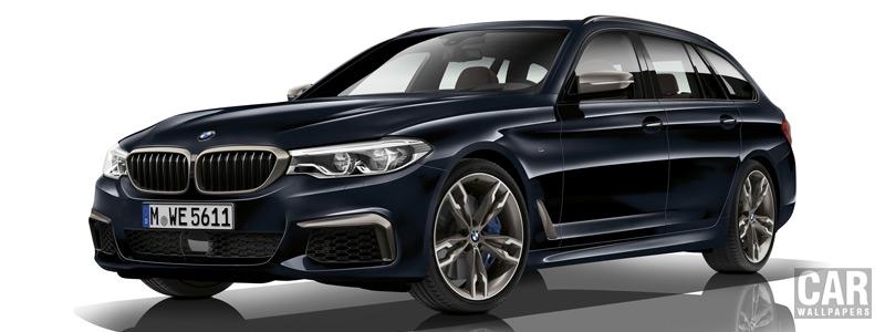 Обои автомобили BMW M550d xDrive Touring - 2017 - Car wallpapers