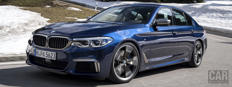 Обои автомобили BMW M550i xDrive Sedan - 2017 - Car wallpapers