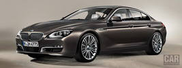 BMW 650i Gran Coupe - 2012