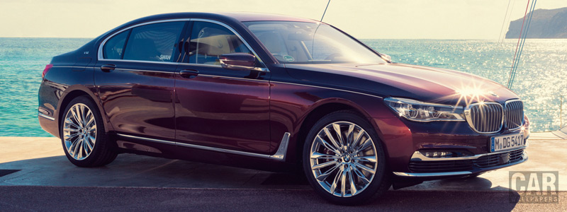 Обои автомобили BMW M760Li xDrive Inspired by Nautor's Swan - 2017 - Car wallpapers