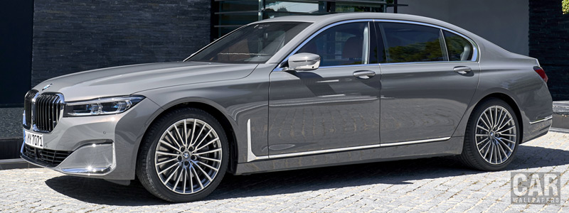 Обои автомобили BMW 750Li xDrive - 2019 - Car wallpapers