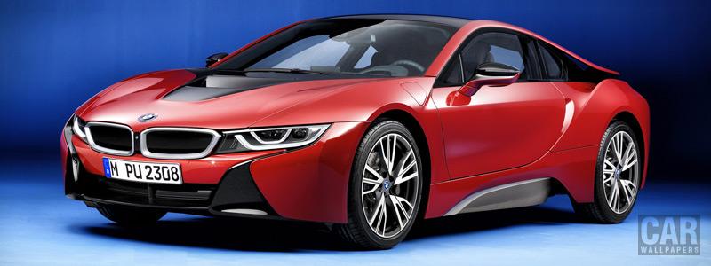 Обои автомобили BMW i8 Protonic Red Edition - 2016 - Car wallpapers