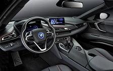 Обои автомобили BMW i8 Protonic Red Edition - 2016