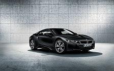 Обои автомобили BMW i8 Frozen Black Edition - 2017
