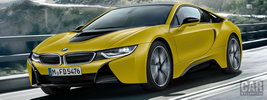 BMW i8 Frozen Yellow Edition - 2017