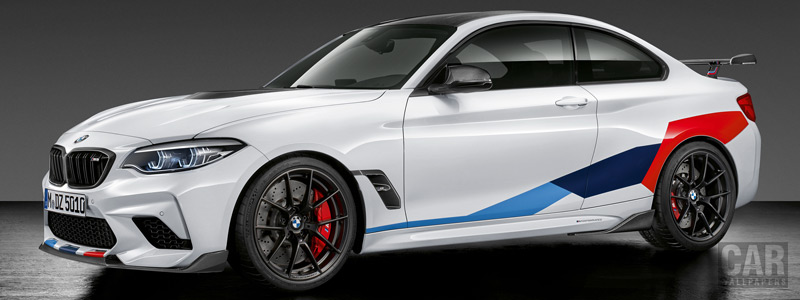 Обои автомобили BMW M2 Competition M Performance Accessories - 2018 - Car wallpapers