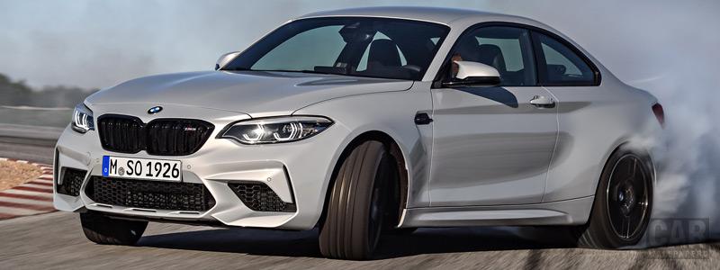 Обои автомобили BMW M2 Competition - 2018 - Car wallpapers